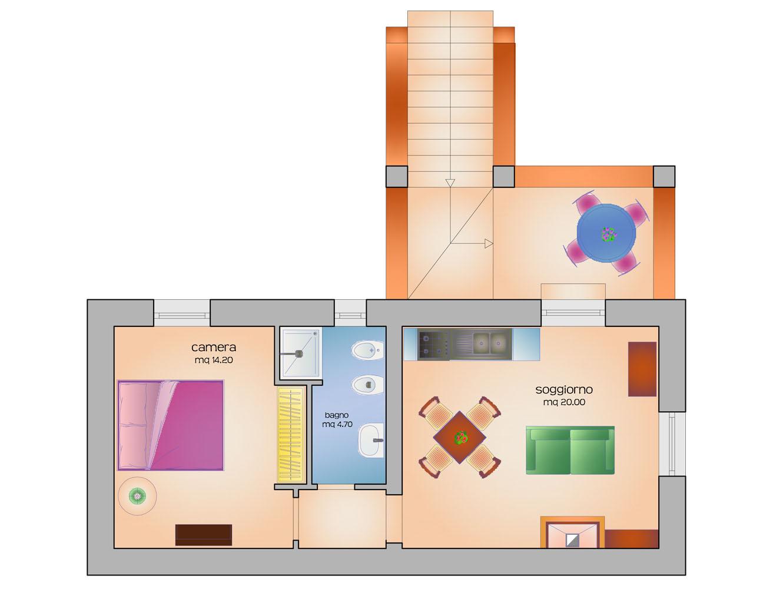 Appartamento vacanze Trifoglio
